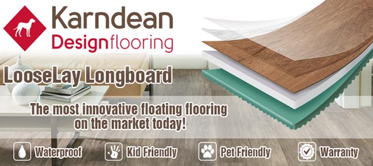 Karndean Loose Lay Vinyl Plank Flooring - Muskoka, Ontario